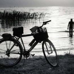 Tisza tó és bicikli